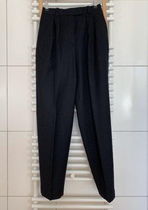 ARKET Pantalón de cintura alta negro Lana