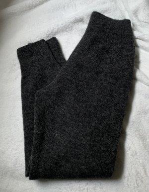 ARKET Wollen broek donkergrijs-grijs Alpacawol