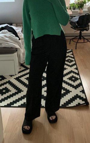 ARKET Pantalon en laine noir laine