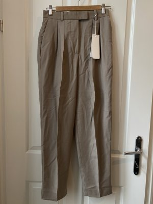 ARKET Pantalón de lana beige Lana