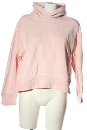 ARKET Bluza z kapturem różowy W stylu casual