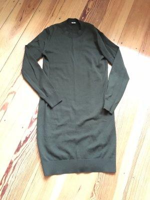 ARKET Woolen Dress green grey