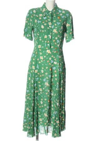 ARKET Sukienka z krótkim rękawem Wzór w kwiaty W stylu casual