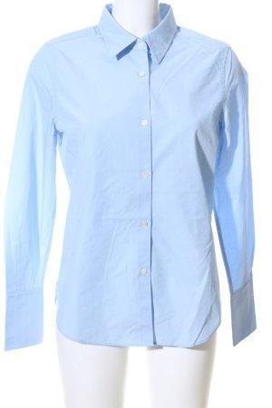 ARKET Langarm-Bluse blau Business-Look