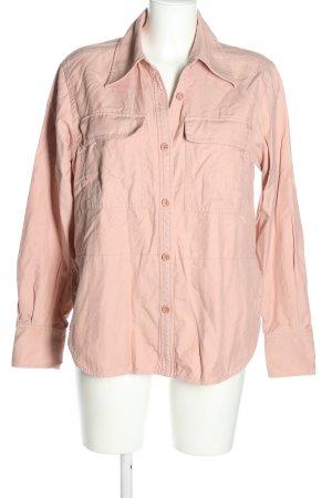 ARKET Camicia a maniche lunghe rosa stile casual