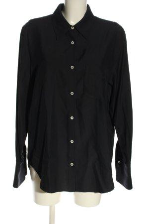 ARKET Camicia a maniche lunghe nero stile casual