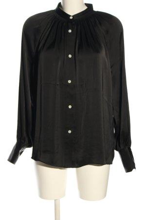 ARKET Long Sleeve Shirt black casual look