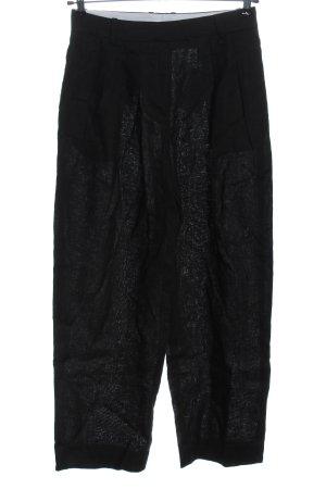 ARKET Pantalón de lino negro look casual