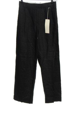 ARKET Pantalone di lino nero stile casual