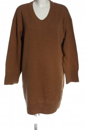 ARKET Knitted Dress brown casual look