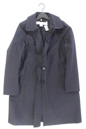 ARKET Coat blue-neon blue-dark blue-azure cotton