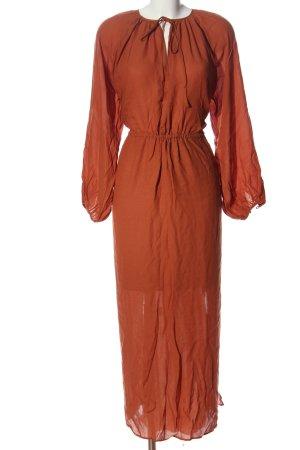 ARKET Maxi abito marrone stile casual