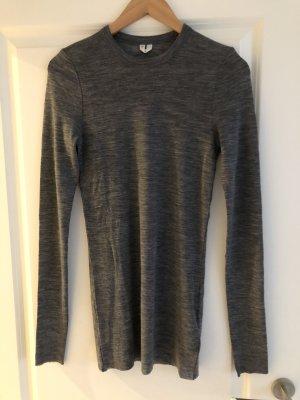 ARKET Longsleeve grey-light grey merino wool