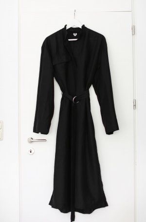 ARKET Sukienka midi czarny
