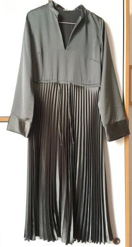 ARKET Midi Dress green grey