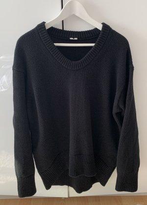 ARKET Maglione di lana nero Lana