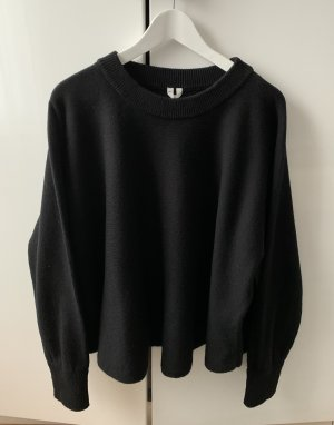 ARKET Wool Sweater black wool