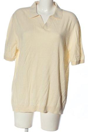 ARKET Polo Shirt cream casual look