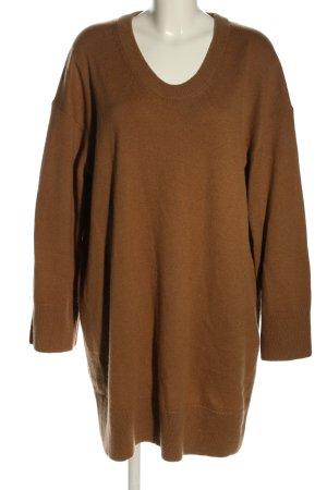 ARKET Abito maglione marrone stile casual