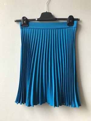 ARKET Plaid Skirt turquoise