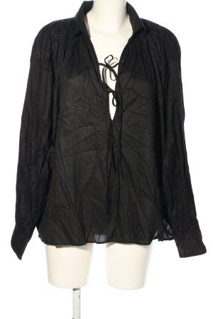 ARKET Schlupf-Bluse schwarz Casual-Look