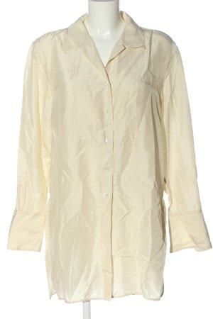 ARKET Jedwabna bluzka kremowy W stylu casual