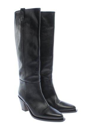 ARKET Absatz Stiefel schwarz Casual-Look