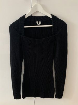 ARKET Square neck Wollpullover XS