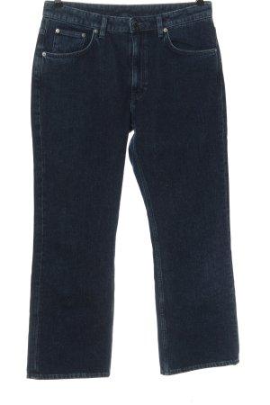 ARKET Jeansy z prostymi nogawkami niebieski W stylu casual