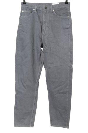 ARKET Jeansy z wysokim stanem jasnoszary W stylu casual