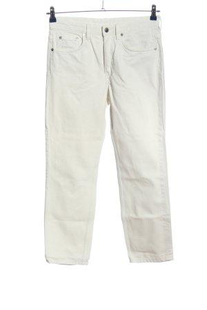 ARKET Jeans a gamba dritta bianco stile casual
