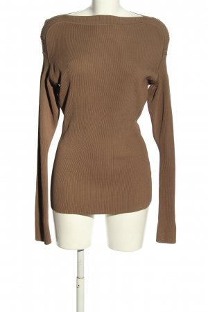 ARKET Knitted Sweater brown casual look