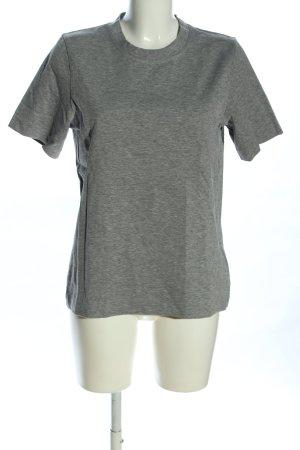 ARKET T-Shirt hellgrau meliert Casual-Look