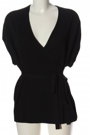 ARKET Wraparound Blouse black casual look
