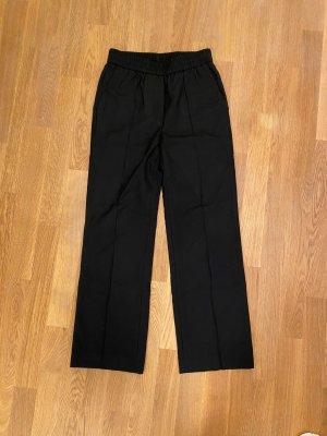 ARKET Pantalon en laine noir