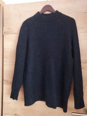 ARKET Wool Sweater black-blue