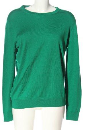 ARKET Wollpullover grün Casual-Look