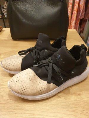 ARKK Copenhagen Sneakersy wciągane czarny-beżowy