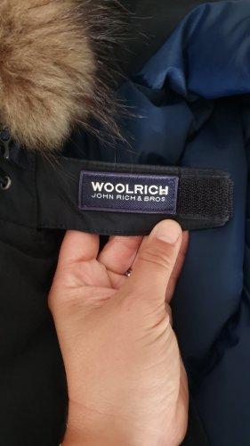 Woolrich Parka dark blue pelt