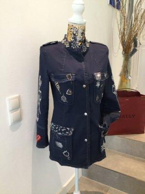 Arlette Kaballo Marynarka jeansowa ciemnoniebieski