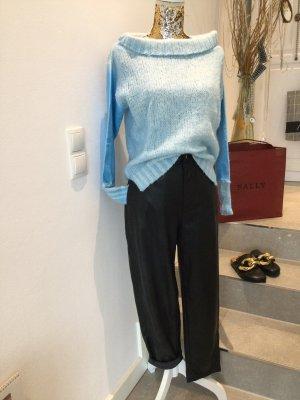 Arlette Kaballo Wełniany sweter jasnoniebieski