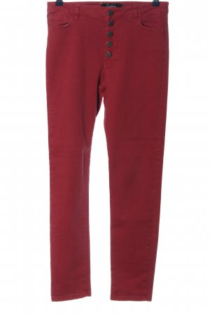 Arlette Kaballo Drainpipe Trousers red casual look