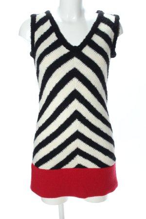 Arlette Kaballo Strickkleid grafisches Muster Casual-Look