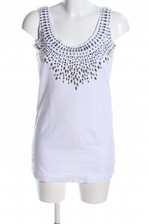Arlette Kaballo Tank Top white casual look