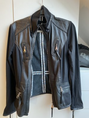 Arma Collection Leather Jacket black