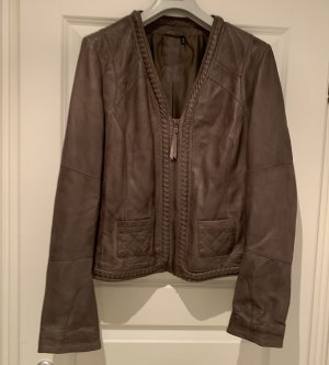 Arma Collection Leather Jacket taupe