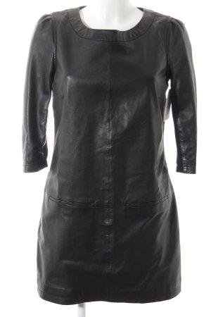 Arma Collection Robe en cuir noir style festif