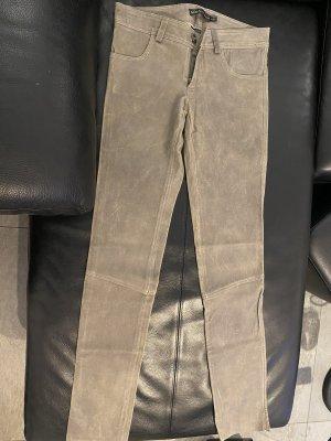 Arma Collection Skórzane spodnie Wielokolorowy