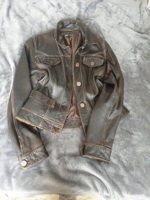 Arma Collection Skórzana kurtka brązowy