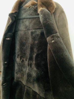 Arma Lederjacke mit Innenfell und Pelz, Gr. 38, neuwertig